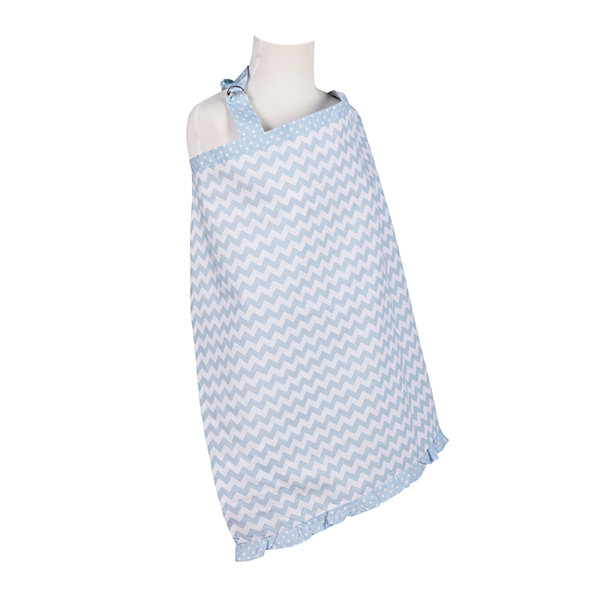 Trend Lab® Blue Sky Chevron Nursing Cover