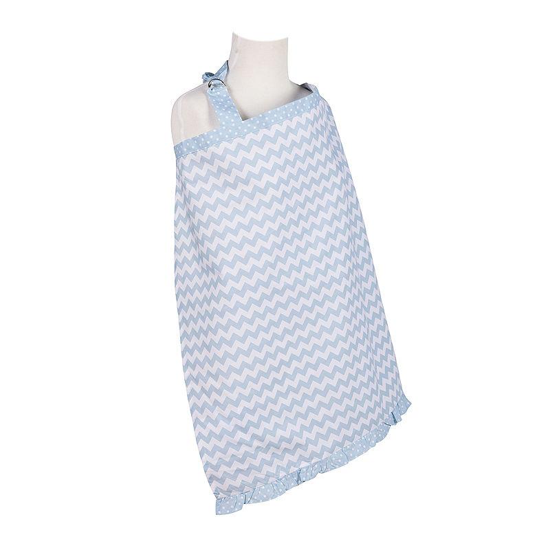 Trend Lab Blue Sky Chevron Nursing Cover plus size,  plus size fashion plus size appare