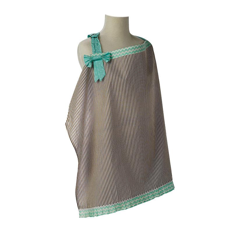 Trend Lab Nursing Cover - Cocoa Mint plus size,  plus size fashion plus size appare