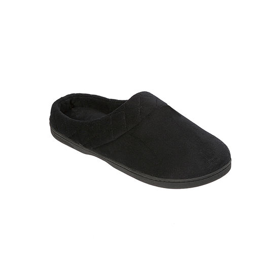 Dearfoams Velour Womens Clog Slippers