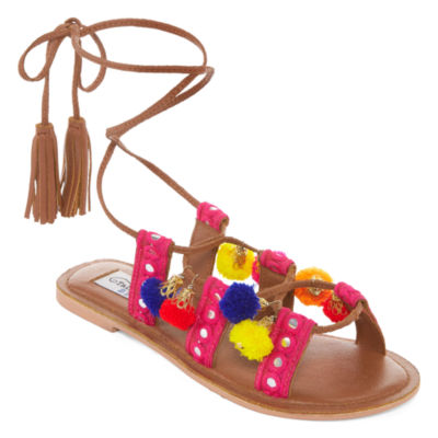 Tallulah Blu Party Party Womens Flat Sandals