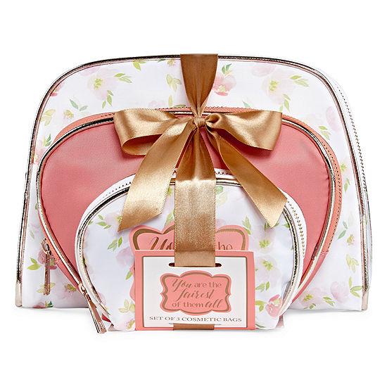 Mixit Mothers Day 3-pc. Makeup Bag