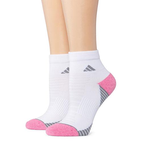 Adidas 2pr Superlite Speed Mesh Quarter Socks