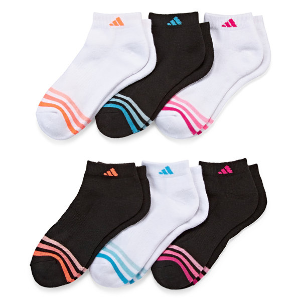 Adidas 6pk Cushion Low Cut Socks
