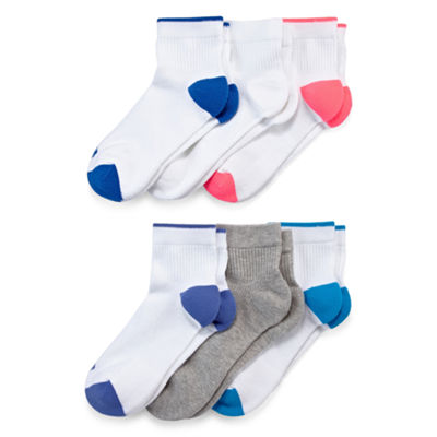 Xersion 6 Pair Quarter Socks - Womens