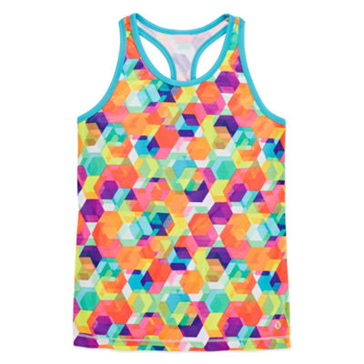 Xersion Performance Graphic Tank Top - Girls' 7-16 and Plus