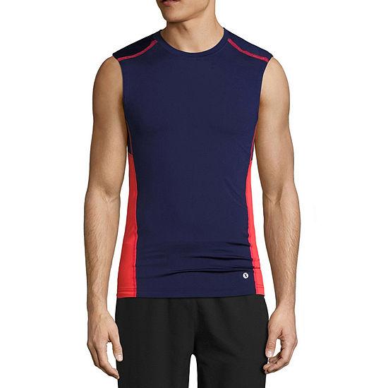Xersion Mens Crew Neck Sleeveless T-Shirt