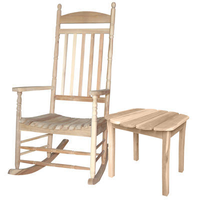 International Concepts Porch Rocker And Table 2-pc. Patio Lounge Set