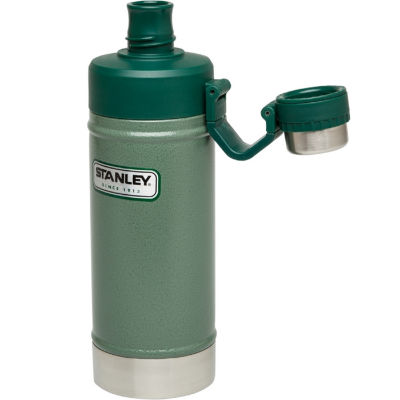 Stanley Classic 18oz. Vacuum Water Bottle in Stainless Steel