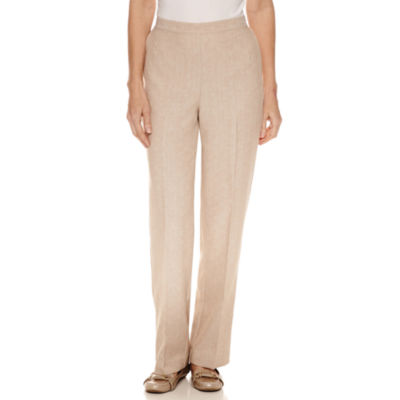 Alfred Dunner Ladies Who Lunch Flat Front Pants