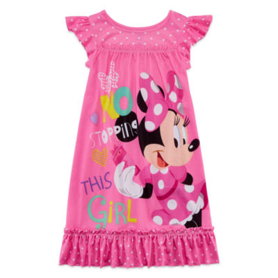 Disney Short Sleeve Minnie Mouse Nightshirt