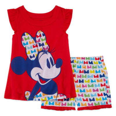 Disney 2-pc. Minnie Mouse Pajama Set Big Kid Girls