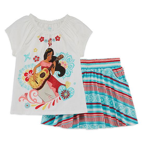 Disney Girls Elena of Avalor Skort Set Preschool