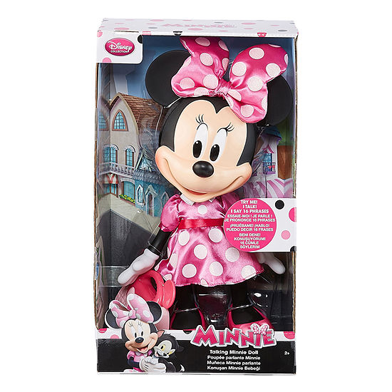 Disney Talking Minnie Mouse Doll with Toy Purse
