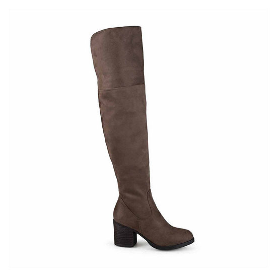 Journee Collection Womens Sana Over the Knee Boots