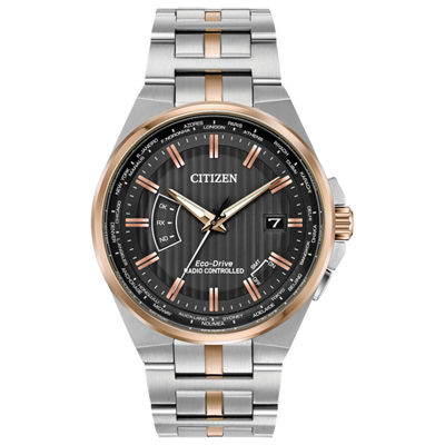 Citizen Mens Two Tone Bracelet Watch-Cb0166-54h