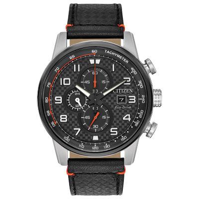 Citizen Mens Black Strap Watch-Ca0681-03e