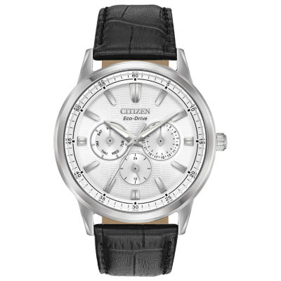 Citizen Mens Black Strap Watch-Bu2070-04a