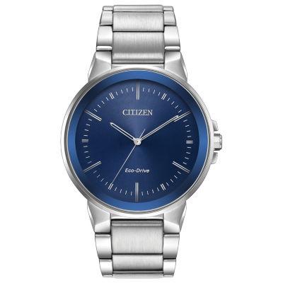 Citizen Mens Silver Tone Bracelet Watch-Bj6510-51l