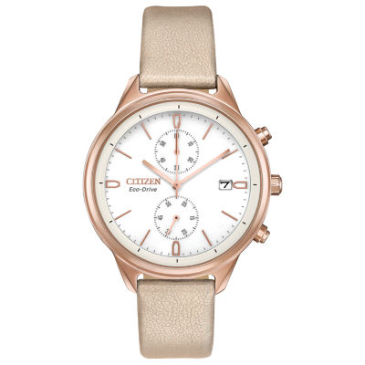 Citizen Womens Pink Strap Watch-Fb2003-05a