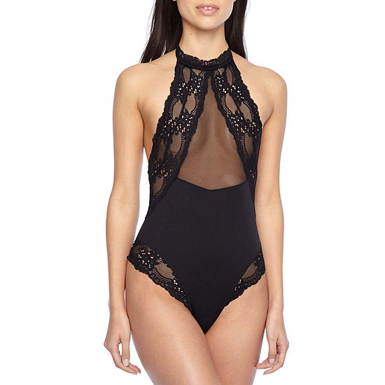 Rene Rofe The Yasmeen Sleeveless Round Neck Bodysuit