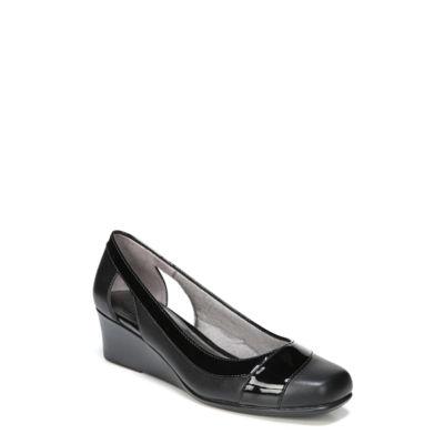 Lifestride Grandeur Womens Slip-On Shoes-Wide Slip-on Square Toe