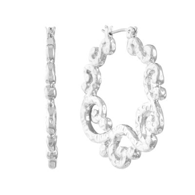 Liz Claiborne 35mm Hoop Earrings