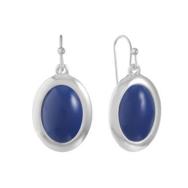 Liz Claiborne Liz Claiborne Blue Drop Earrings Gtm4Y1A6
