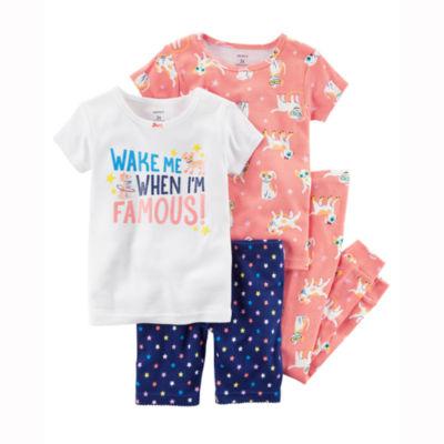 Carter's 4-pc. Pajama Set Girls