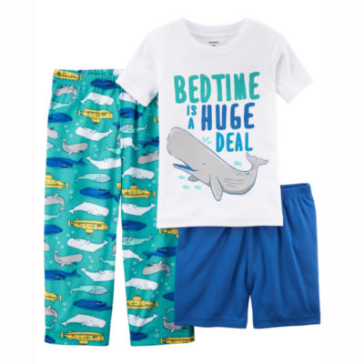 Carter's 3-pc. Pajama Set - Toddler Boys 2T-5T
