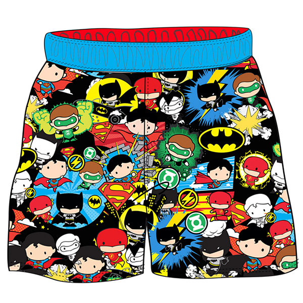 Boys Justice League Trunks-Toddler