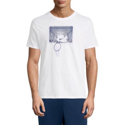 Nike Bball Shatter Short Sleeve Crew Neck T-Shirt