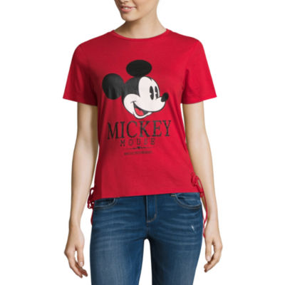 Mickey Mouse Side Lace Up Tee - Juniors