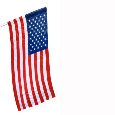American Flag 2.5x4 ft. Tough-Tex the Strongest  Longest Lasting Flag by Annin Flagmakers  100% Madein USA with Sewn Stripes  Embroidered Stars and Brass Grommets.  Model 605