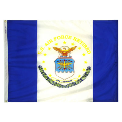 Annin NYL-GLO USAF Retired Flag 3 by 4 Foot