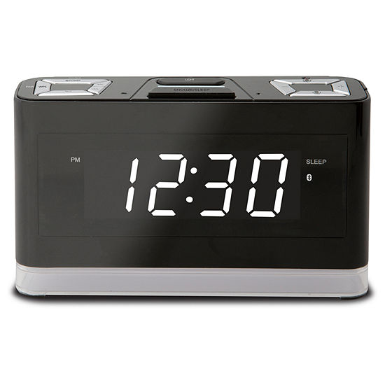 iLive Voice Activated Alexa Clock Speaker