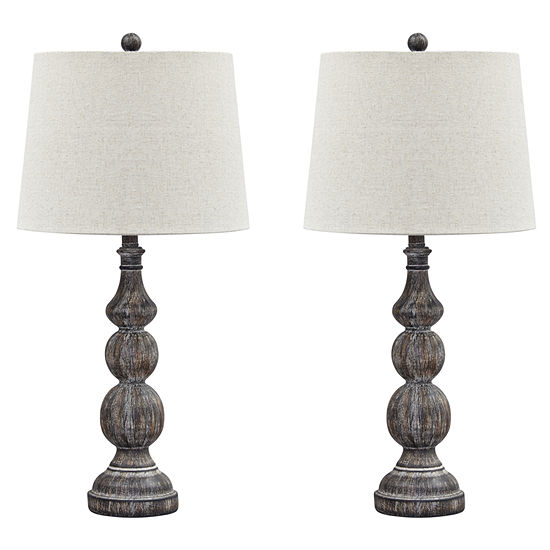 Signature Design By Ashley Set Of 2 Mair Table Lamps Jcpenney