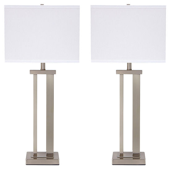 Signature Design by Ashley® Set of 2 Aniela MetalTable Lamps