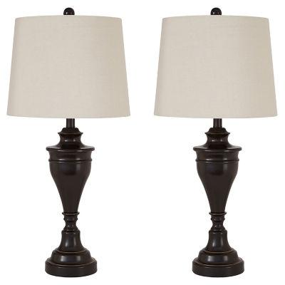 Signature Design by Ashley® Set of 2 Darlita Metal Table Lamps