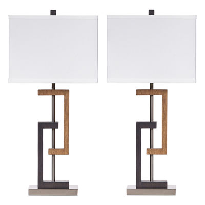 Signature Design by Ashley® Set of 2 Syler TableLamps