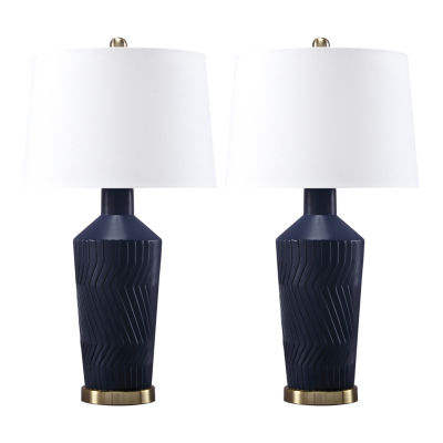 Signature Design by Ashley® Set of 2 Leroi Ceramic Table Lamps