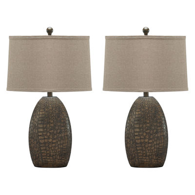 Signature Design by Ashley® Set of 2 Melvin Table Lamps