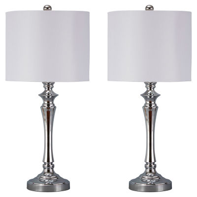 Signature Design by Ashley® Set of 2 Taji Metal Table Lamps