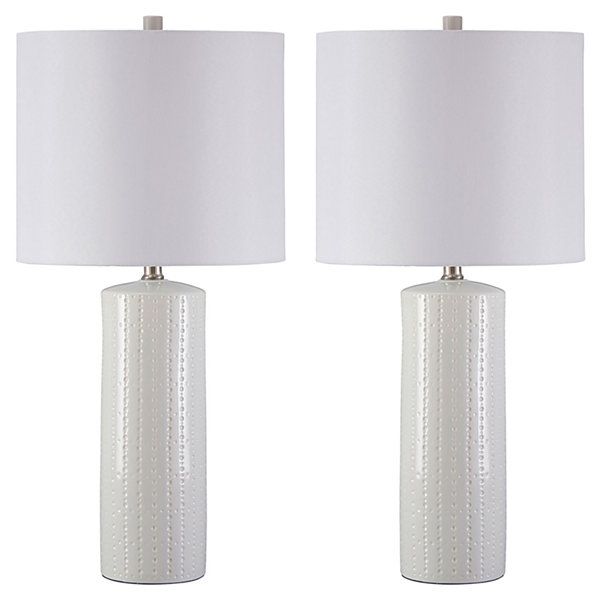 Signature Design by Ashley® Set of 2 Steuben Ceramic Table Lamps