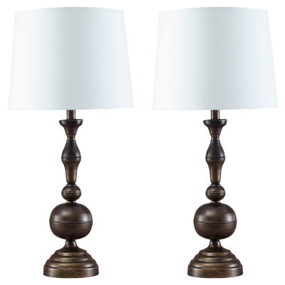 Signature Design by Ashley® Set of 2 Aadi Metal Table Lamps