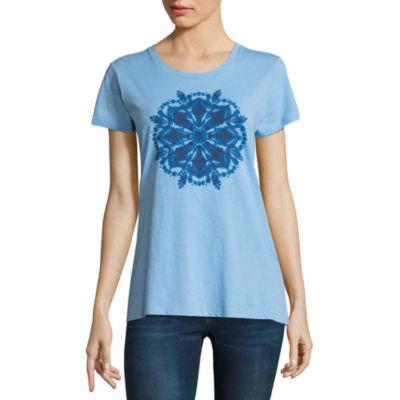 Columbia Sportswear Co. Short Sleeve Crew Neck Graphic T-Shirt