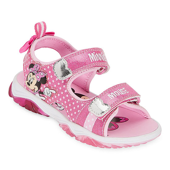 Disney Collection Toddler Girls Slide Sandals