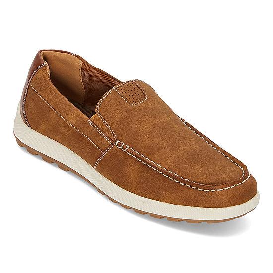 St. John's Bay Mens Abita Slip-On Shoe Closed Toe