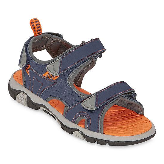 Arizona Little Kid/Big Kid Boys Finn Strap Sandals