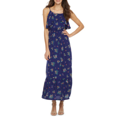 Peyton & Parker Sleeveless Floral Maxi Dress